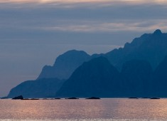 The southern point of Lofoten from Værøy