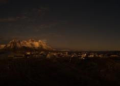 Magic lights over Henningsvær, Lofoten(Thank you Paal). Photo:Stefan Linnerhag