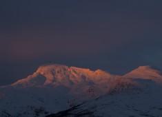 Tiny ray of sunlight on the Lofoten. Photo Stefan Linnerhag.