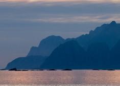The southern point of Lofoten from Værøy